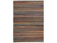 LivingStyles Nomad Hand Knotted Weave Multi-colour Thread Woolen Rug - 280x190cm