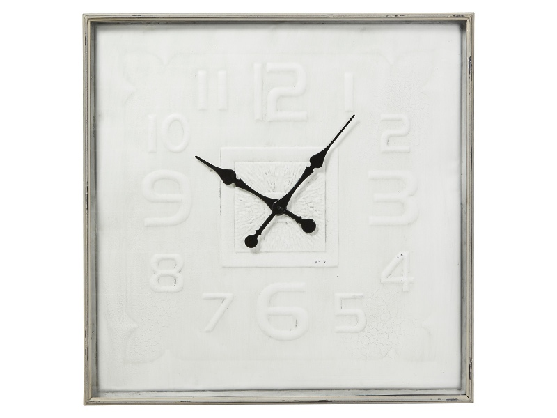 Guilie Metal Square Wall Clock, 80cm