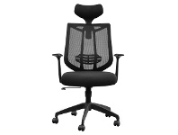 LivingStyles Kabra Fabirc Office Chair with Head Rest