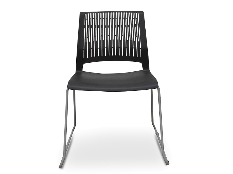 Zion Visitor's Chair, Black