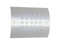 LivingStyles Guardian Lines IP44 Exterior Stainless Wall Light (Oriel Lighting)