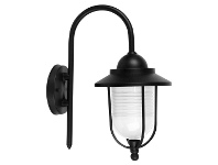 Domo IP44 Exterior Coach Light, Black