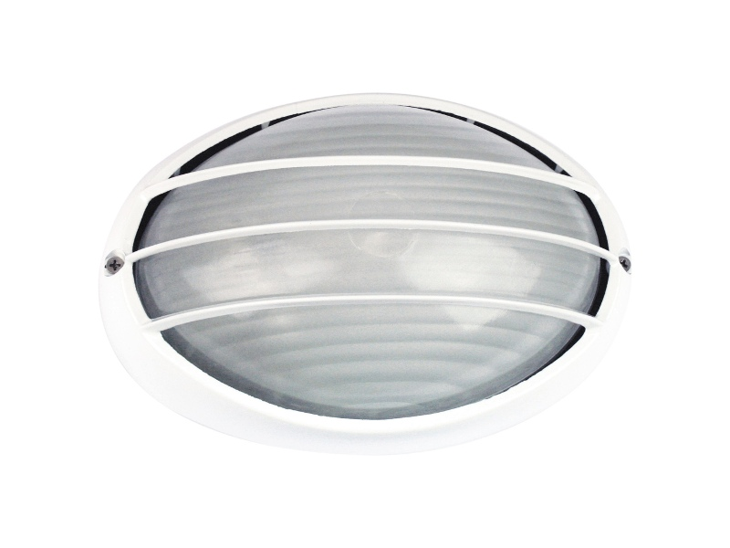 Galaxy IP54 Exterior Bunker Light, Guarded, White
