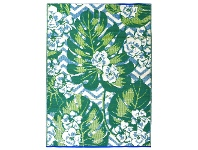 LivingStyles Chatai Monstera Reversible Outdoor Rug, 120x170cm
