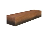 LivingStyles Kelsey Timber Mantel Shelf, 90cm