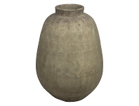 LivingStyles Milos Raw Ceramic Pot, Large