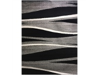 LivingStyles Pablo Dazzler Turkish Made Rug, 160x220cm, Black