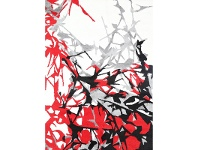 LivingStyles Pablo Rista Turkish Made Rug, 200x290cm, Red
