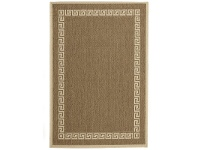 LivingStyles Pavilion Messiah 180x270cm Egyptian Made Indoor/Outdoor Rug - Brown