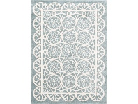LivingStyles Piccolo Lace Turkish Made Kids Rug, 120x170cm, Teal