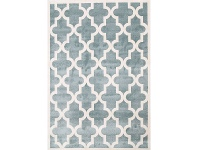 LivingStyles Piccolo Moroccan Turkish Made Kids Rug, 120x170cm, Teal