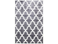 LivingStyles Piccolo Moroccan Turkish Made Kids Rug, 120x170cm, Charcoal