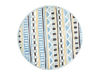 LivingStyles Piccolo Cecos Turkish Made Round Kids Rug, 133cm