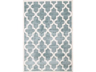 LivingStyles Piccolo Moroccan Turkish Made Kids Rug, 160x230cm, Teal