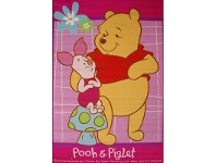 LivingStyles Winnie and Piglet Egyptian Made 100x150cm Kids Rug