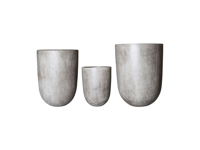 Bali 3 Piece Terracotta Planter Set