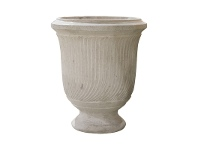 LivingStyles Toga Cement Giant Pot