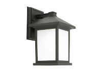 LivingStyles Plymouth IP43 Outdoor Wall Light - Black