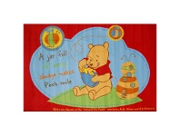 LivingStyles Winnie The Pooh Egyptian Made 100x150cm Kids Rug