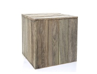 LivingStyles Tupelo Recycled Timber Plinth - Small