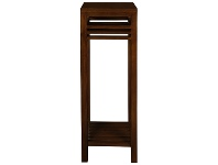 LivingStyles Holland Solid Mahogany Timber Plant Stand, Mahogany
