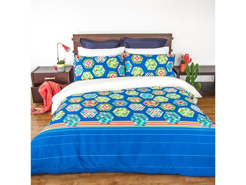 Soda Queen Size Reversible Quilt Cover Set