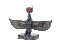 LivingStyles Veronese Cold Cast Bronze Coated Egyptian Mythology Figurine, Isis