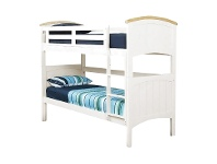 LivingStyles Ranch Wooden Single Bunk Bed