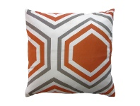 LivingStyles Sweden Honeycomb Cotton Scatter Cushion, Apricot