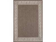 LivingStyles Sisalo Gable Egyptian Made Rug, 120x170cm, Brown/Beige