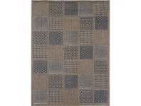 LivingStyles Sisalo Ossian Egyptian Made Rug, 200x290cm, Brown