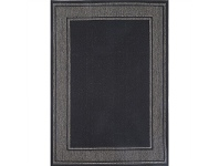 LivingStyles Sisalo Aurelio Egyptian Made Rug, 67x235cm, Black