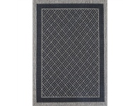 LivingStyles Sisalo Judith Egyptian Made Rug, 80x150cm, Black