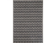 Sisalo Nastka Egyptian Made Rug, 80x150cm, Black