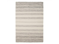 LivingStyles Skandi Helsinki Flatwoven Wool and Cotton Rug, 320x230cm, Grey