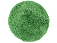 LivingStyles Soho Texture Hand Tufted Round Shag Rug, 90cm, Lime