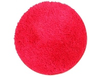 LivingStyles Soho Texture Hand Tufted Round Shag Rug, 90cm, Pink