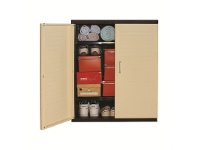 LivingStyles Low Storage Cabinet, Beige