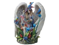 LivingStyles Sheila Wolk's Sanctuary Angel Figurine (Limited Edition)