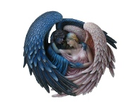 LivingStyles Sheila Wolk's Day Surrendering unto Night Wall Plaque (Limited Edition)