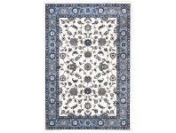 LivingStyles Sydney Classic Turkish Made Oriental Rug, 230x160cm, White / Blue
