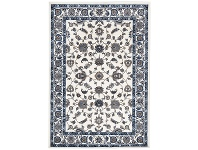 LivingStyles Sydney Classic Turkish Made Oriental Rug, 230x160cm, White