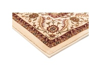 LivingStyles Sydney Medallion Turkish Made Oriental Rug, 170x120cm, Ivory