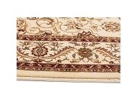 LivingStyles Sydney Medallion Turkish Made Oriental Rug, 230x160cm, Ivory