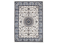 LivingStyles Sydney Medallion Turkish Made Oriental Rug, 230x160cm, White