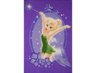 LivingStyles Fairies Tinker Bell Egyptian Made 100x150cm Kids Rug