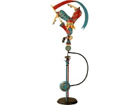 LivingStyles Authentic Models Hand Crafted Metal Skyhook Balance Toy, Acrobat