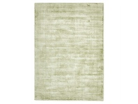 LivingStyles Luxe Hand Loomed Distressed Modern Rug in Green - 225x155cm