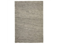 LivingStyles Urban Ida Flat Woven Wool and Jute Rug, 225x155cm, Natural