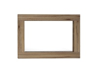 LivingStyles Horsens Solid Acacia Timber Frame 130cm Dressing Mirror
